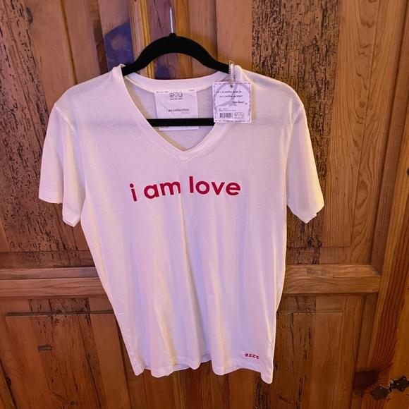 RARE PLW I AM LOVE V NECK 😎